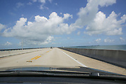 New Seven Mile bridge connects the Keys to the mainland, Key West, Florida, USA