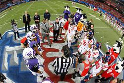 Dec 31, 2014; Atlanta , GA, USA; <br /> in the 2014 Peach Bowl at the Georgia Dome. Mandatory Credit: Paul Abell/CFA Peach Bowl Pool Photo via USA TODAY Sports