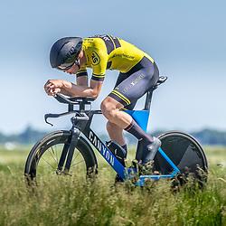 EMMEN (NED) June 16: <br />CYCLING <br />Dutch Nationals Time Trail men U23 Joost Nat