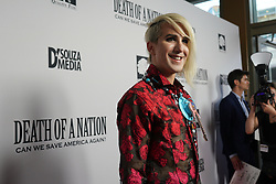 Ricky Rebel at Death Of A Nation Los Angeles Premiere held at Regal L.A. Live: A Barco Innovation Center on July 31, 2018 in Los Angeles, California, United States (Photo by Jc Olivera for Jade Umbrella)