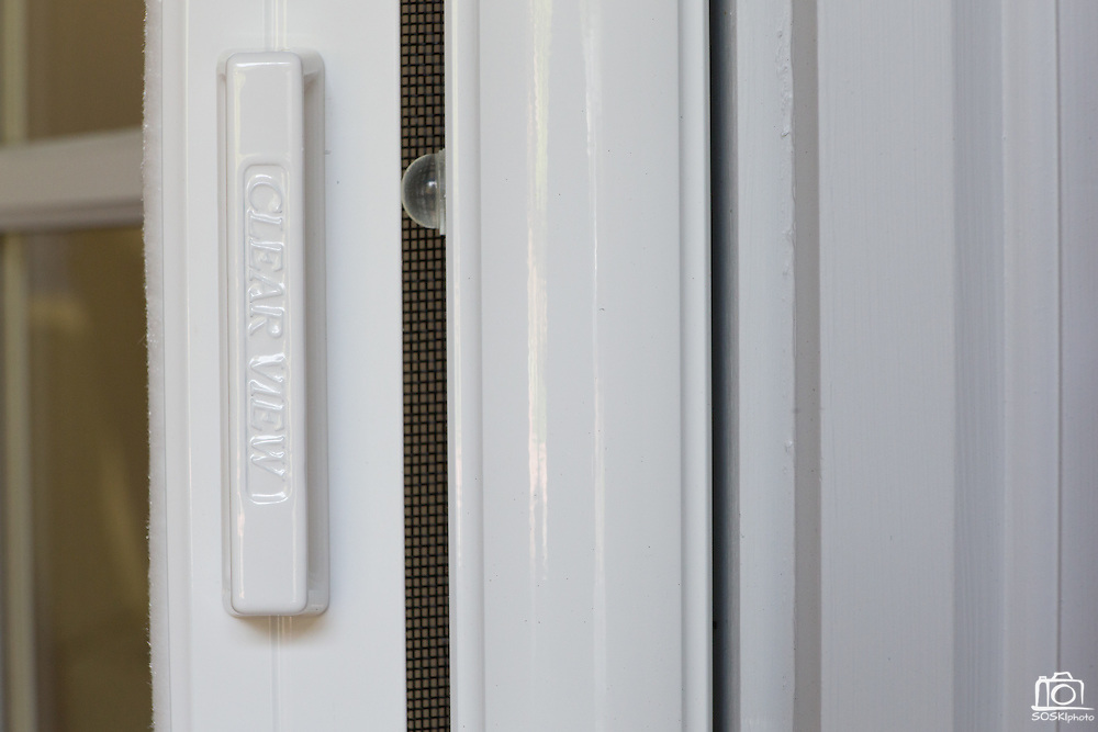 ClearView Door products installed on multiple doors on a customer's home in Alamo, Calif.  Photo by Stan Olszewski/SOSKIphoto.