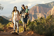 SHOT 8/6/17 6:30:55 PM - UOT Tourism photos of Brian Head and Cedar City, Utah. Images include riding Brian Head Resort in Brian Head, Utah; exploring Cedar Breaks National Monument, hiking Kolob Canyons in Zion National Park and mountain biking the Lava Flow Trail in Cedar City, Utah. (Photo by Marc Piscotty / © 2017)