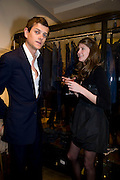 LORD ALEXANDER SPENCER-CHURCHILL; FLORENCE VON PREUSSEN. The Launch of the Lanvin store on Mount St. Presentation and cocktails.  London. 26 March 2009