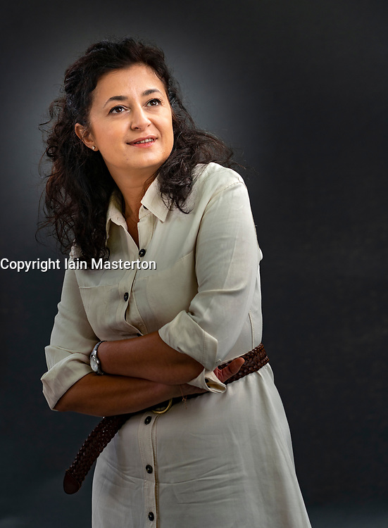Edinburgh, Scotland, UK. 24 August 2019. Ece Temelkuran.  She returns to the festival with her book How to Lose a Country which warns against to creep of populism. Iain Masterton/Alamy Live News.