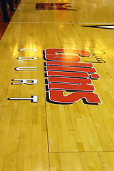03 February 2007: The court in Redbird Arena is now named after the most prolific student athlete in the history of Illinois State University, Doug Collins.  In what is locally referred to as the War on Seventy Four, the Bradley Braves defeated the Illinois State University Redbirds 70-62 on Doug Collins Court inside Redbird Arena in Normal Illinois.