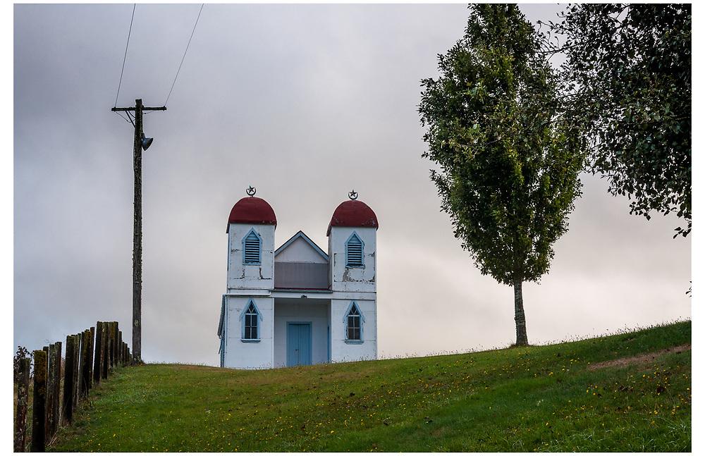 Ratana Church, Raetihi, Tongariro National Park.