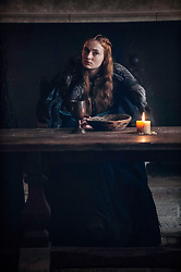 RELEASE DATE: April 24, 2016 season 6 TITLE: Game of Thrones STUDIO: HBO DIRECTOR: PLOT: In the mythical continent of Westeros, several powerful families fight for control of the Seven Kingdoms. As conflict erupts in the kingdoms of men, an ancient enemy rises once again to threaten them all. Meanwhile, the last heirs of a recently usurped dynasty plot to take back their homeland from across the Narrow Sea. STARRING: SOPHIE TURNER. (Credit Image: © HBO/Entertainment Pictures/ZUMAPRESS.com)