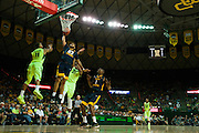 WACO, TX - MARCH 5: Esa Ahmad #23 of the West Virginia Mountaineers drives to the basket against the Baylor Bears on March 5, 2016 at the Ferrell Center in Waco, Texas.  (Photo by Cooper Neill/Getty Images) *** Local Caption *** Esa Ahmad