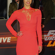 Elysia Wren Arrives at Fast and Furious Live - VIP performance at O2 Arena on 19 January 2018, London, UK.