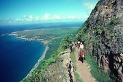 Molokai Mule Ride, Kalaupapa, Molokai, Hawaii, USA<br />