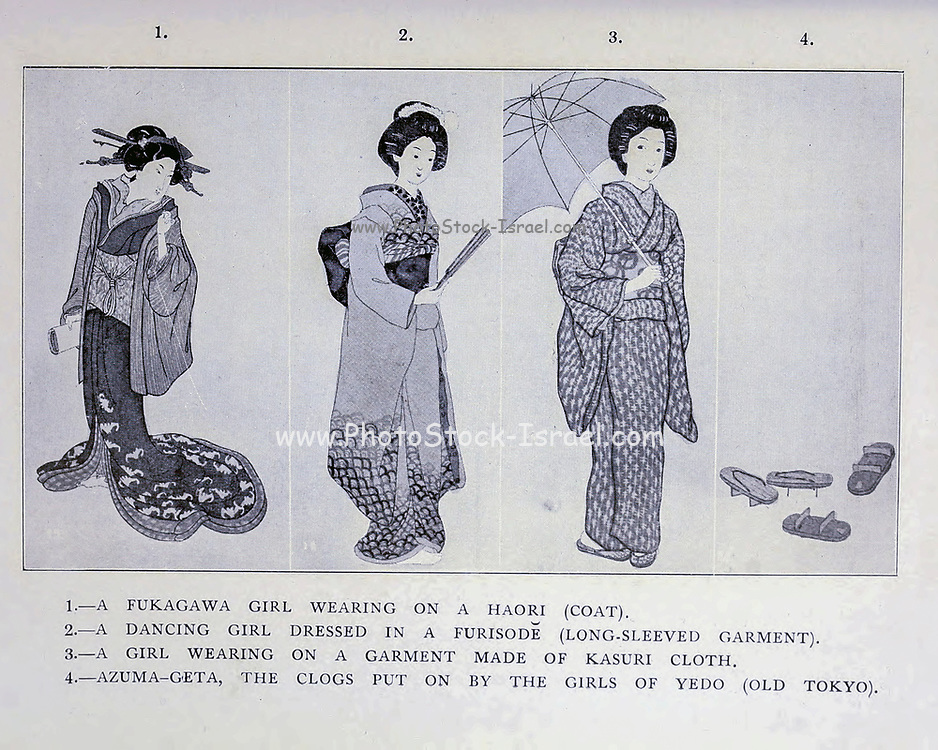From the book ' The story of the geisha girl ' by Taizo Fujimoto, Published in London by T. Werner Laurie