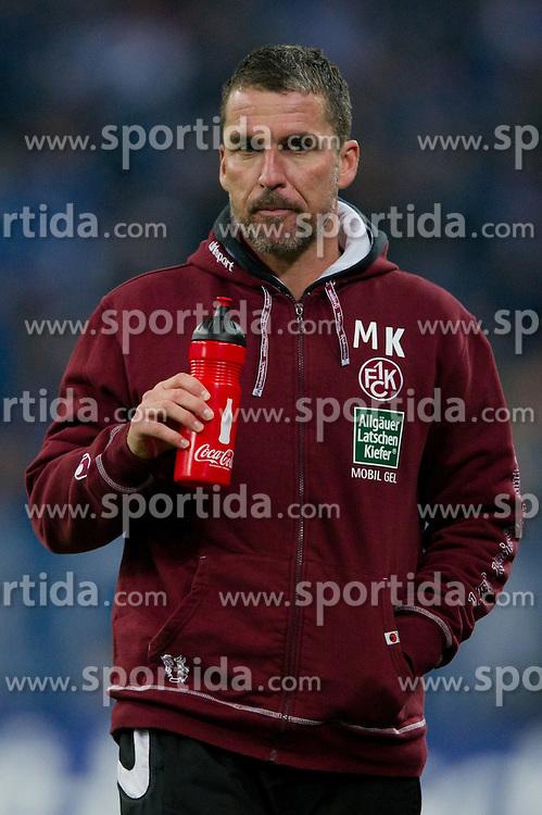 15.10.2011, Veltins Arena, Gelsenkirchen, GER, 1. FBL, FC Schalke 04 vs. 1. FC Kaiserslautern, im Bild Marco Kurz (Trainer Kaiserslautern) // during FC Schalke 04 vs. 1. FC Kaiserslautern at Veltins Arena, Gelsenkirchen, GER, 2011-10-15. EXPA Pictures © 2011, PhotoCredit: EXPA/ nph/  Kurth       ****** out of GER / CRO  / BEL ******