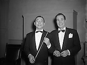 23/10/1953<br /> 10/23/1953<br /> 23 October 1953<br /> <br /> Radio Review Special  at Theatre Royal<br /> <br /> Joe Loss on left