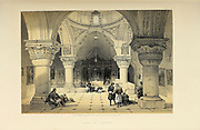 Chapel of St. Helena, Jerusalem  from The Holy Land : Syria, Idumea, Arabia, Egypt & Nubia by Roberts, David, (1796-1864) Engraved by Louis Haghe. Volume 1. Book Published in 1855 by D. Appleton & Co., 346 & 348 Broadway in New York.