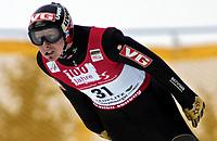 ◊Copyright:<br />GEPA pictures<br />◊Photographer:<br />Wolfgang Grebien<br />◊Name:<br />Ingebrigtsen<br />◊Rubric:<br />Sport<br />◊Type:<br />Ski nordisch, Skispringen<br />◊Event:<br />FIS Skiflug-Weltcup, Skifliegen am Kulm, Qualifikation<br />◊Site:<br />Bad Mitterndorf, Austria<br />◊Date:<br />14/01/05<br />◊Description:<br />Tommy Ingebrigtsen (NOR)<br />◊Archive:<br />DCSWG-1401054107<br />◊RegDate:<br />14.01.2005<br />◊Note:<br />8 MB - SU/MP - Nutzungshinweis: Es gelten unsere Allgemeinen Geschaeftsbedingungen (AGB) bzw. Sondervereinbarungen in schriftlicher Form. Die AGB finden Sie auf www.GEPA-pictures.com.<br />Use of picture only according to written agreements or to our business terms as shown on our website www.GEPA-pictures.com.