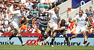 Picture by Andrew Tobin/Focus Images Ltd +44 7710 761829.26/05/2013.Billy Twelvetrees in action during the match between England and the Barbarians at Twickenham Stadium, Twickenham.