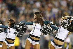 Philadelphia Eagles Cheerleaders perform during the NFL game between the Chicago Bears and the Philadelphia Eagles on Sunday, December 22nd 2013 in Philadelphia. The Eagles won 54-11. (Photo by Brian Garfinkel)