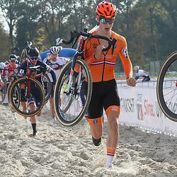 07-11-2020: Wielrennen: EK Veldrijden: Rosmalen <br />Hugo Kars