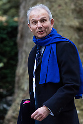London, December 05 2017. Justice Secretary David Lidington arrives at 10 Downing Street to attend the weekly cabinet meeting. © Paul Davey