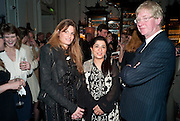 JEMIMA KHAN; SABEEN JATOI; DAVID GODWIN, Henry Porter hosts a launch for Songs of Blood and Sword by Fatima Bhutto. The Artesian at the Langham London. Portland Place. 15 April 2010. *** Local Caption *** -DO NOT ARCHIVE-© Copyright Photograph by Dafydd Jones. 248 Clapham Rd. London SW9 0PZ. Tel 0207 820 0771. www.dafjones.com.<br /> JEMIMA KHAN; SABEEN JATOI; DAVID GODWIN, Henry Porter hosts a launch for Songs of Blood and Sword by Fatima Bhutto. The Artesian at the Langham London. Portland Place. 15 April 2010.