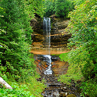 """""""Munising Falls"""" 2<br /> <br /> A beautiful view of scenic Munising Falls, located near Pictured Rocks National Lake Shore in Michigan's Upper Peninsula!!<br /> <br /> Waterfalls by Rachel Cohen"""