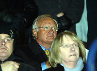 Photo: Chris Ratcliffe.<br /> Southend United v Swindon Town. Coca Cola League 1. 27/01/2006.<br /> Ron Atkinson attends the game as his advisory capacity for Swindon