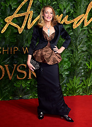 Jerry Hall attending the Fashion Awards in association with Swarovski held at the Royal Albert Hall, Kensington Gore, London.