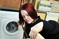 Young Female Building Apprentice, Bradford