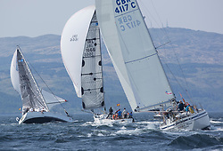 Sailing - SCOTLAND  - 27th May 2018<br /> <br /> DAY 3 Racing the Scottish Series 2018, organised by the  Clyde Cruising Club, with racing on Loch Fyne from 25th-28th May 2018<br /> <br /> GBR3627L, Animal, Kevin Aitken, CCC/RNCYC, First 36.7, IRL1666, Carmen II, Jeffrey/Scutt, CCC/HSC, First 36.7, 4117C, Anna Mae<br /> <br /> Credit : Marc Turner<br /> <br /> Event is supported by Helly Hansen, Luddon, Silvers Marine, Tunnocks, Hempel and Argyll & Bute Council along with Bowmore, The Botanist and The Botanist