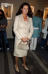 HENRIETTA, COUNTESS OF CALEDON at a private view of fashion designer Lindka Cierach's Couture Dresses drawn by Trudy Good held at the Belgravia Gallery, 45 Albemarle Street, London on 21st September 2005.<br />