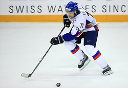 Andrej Kollar of Slovakia at ice-hockey game Slovenia vs Slovakia at second game in  Relegation  Round (group G) of IIHF WC 2008 in Halifax, on May 10, 2008 in Metro Center, Halifax, Nova Scotia, Canada. Slovakia won after penalty shots 4:3.  (Photo by Vid Ponikvar / Sportal Images)