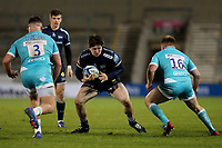 Rugby Union - 2020 / 2021 Gallagher Premiership - Sale Sharks vs Worcester Warriors - AJ Bell Stadium<br /> <br /> Tom Curry of Sale Sharks<br /> <br /> COLORSPORT/PAUL GREENWOOD