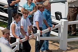Caulier Virginie (BEL) - Nepal de Sudre<br /> CIC2* Greenwich Park Eventing Invitational<br /> Olympic Test Event - London 2011<br /> © Dirk Caremans