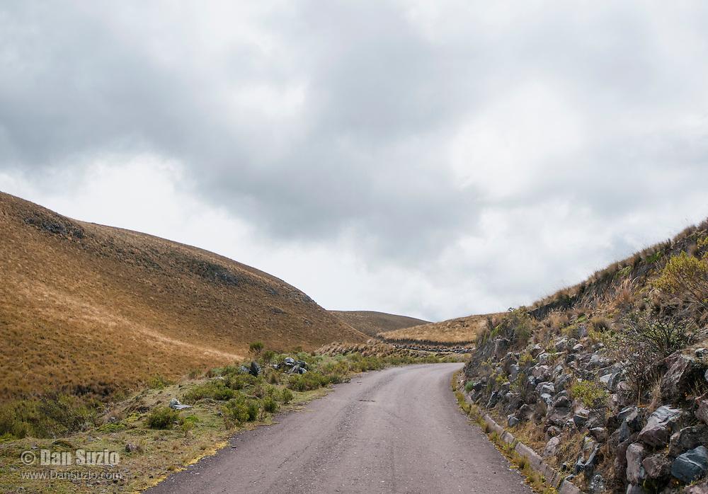 Road to Antisana Ecological Reserve, Ecuador