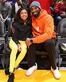 December 29, 2020 (OTD - 2019): Kobe Bryant and Gianna Bryant Court-side At Lakers Game
