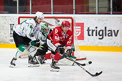 Zan US vs SODJA Jaka during Alps League Ice Hockey match between HDD SIJ Jesenice and HK SZ Olimpija on March 2, 2020 in Ice Arena Podmezakla, Jesenice, Slovenia. Photo by Peter Podobnik / Sportida