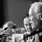Slade Gorton during the 9/11 Commission's 11th Public Hearing, New School University, New York.