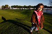 PMM110109#Inês Landeiro, with her 7 years old, was born with achondroplasia dwarfism, daughter of normal height parents.