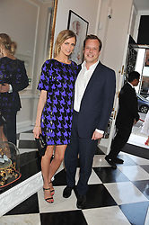 JACQUETTA WHEELER and JAMIE ALLSOPP at the Frocks and Rocks party hosted by Alice Temperley and Jade Jagger at Temperley, Bruton Street, London on 25th April 2013.