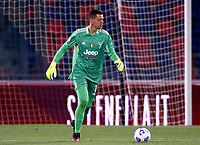 BOLOGNA, ITALY - MAY 23: Wojciech Szczesny of Juventus FC in action ,during the Serie A match between Bologna FC and Juventus FC at Stadio Renato Dall'Ara on May 23, 2021 in Bologna, Italy.(Photo by MB Media/Getty Images)