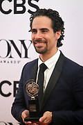 June 10, 2017-New York, New York-United States: Alex Lacamoire attends the 71st Annual Tony Awards Media Room held at Radio City on June 11, 2017 in New York City. The Tony Awards recognize achievement in Broadway productions during the 2016–17 season.  (Photo by Terrence Jennings/terrencejennings.com)