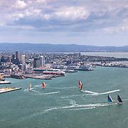© Maria Muina I MAPFRE. Día de la salida de la etapa 7 de Auckland a Itajaí. Start day of Leg 7 from Auckland to Itajai.