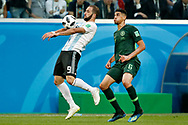 Argentina forwarder Gonzalo Higuain (L) and Nigeria defender Leon Balogun (R) during the 2018 FIFA World Cup Russia, Group D football match between Nigeria and Argentina on June 26, 2018 at Saint Petersburg Stadium in Saint Petersburg, Russia - Photo Stanley Gontha / Pro Shots / ProSportsImages / DPPI