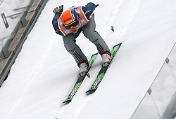 Matej Dobrovsek (SLO) at Flying Hill Individual in 2nd day of 32nd World Cup Competition of FIS World Cup Ski Jumping Final in Planica, Slovenia, on March 20, 2009. (Photo by Vid Ponikvar / Sportida)