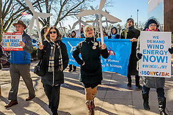 December 20, 2016 - New York, NY, United States - On December 20 in Hempstead, NY, as the first offshore wind project in New York gets approval, a huge crowd of elected officials, environmental groups, activists and concerned New Yorkers rally to support Long Island Power Authority (LIPA) and ask for offshore wind commitment in New York (Credit Image: © Erik Mcgregor/Pacific Press via ZUMA Wire)
