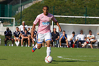 FOOTBALL - FRIENDLY GAMES 2012/2013 - EVIAN TG v SC BASTIA - 24/07/2011 - PHOTO PHILIPPE LAURENSON / DPPI - ALI M'MADI (EVI)