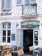 Restaurant in Saint-Martin-de-Ré, Ile de Ré, France