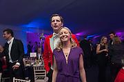 TIM EASTWOOD; AMANDA EASTWOOD, Quorn Hunt Ball, Stanford Hall. Standford on Soar. 25 January 2014