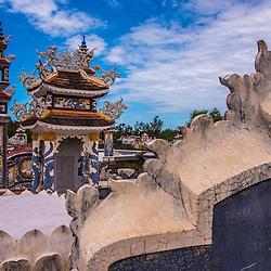 An Bang cemetery, near Hue (ancient city)