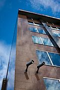 Surveillance cameras in Brussels, Belgium.